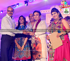 Dilip Joshi at Dildar Dandiya Hyderabad managed by Coconut media Event Mumbai