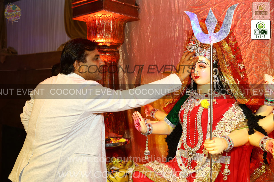 Navratri Puja Vidhi by Kirtidan at Surat Event