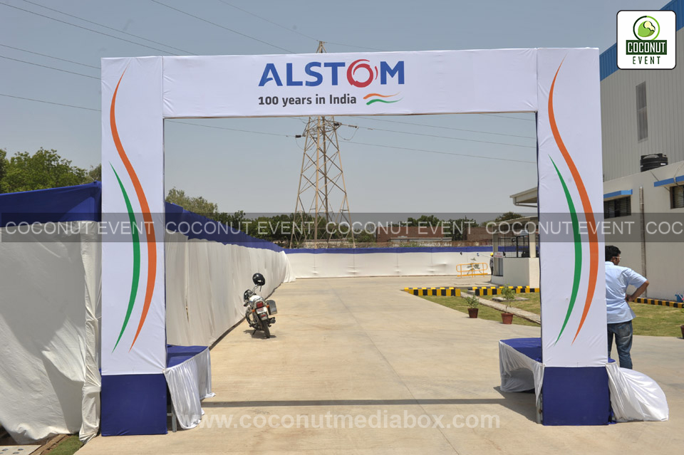 Inauguration at Alstom - Vadodara Event