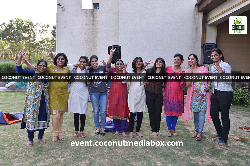 HPCL's Mumbai Refinery 2017 Women's Day with fun outdoor activities to celebrate women's day which is managed by Coconut Event Mumbai