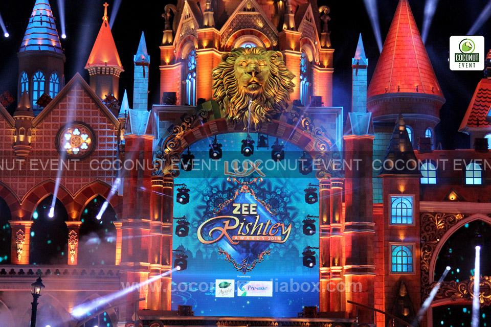 Zee Rishtey Award 2015 at Mumbai by Coconut Event