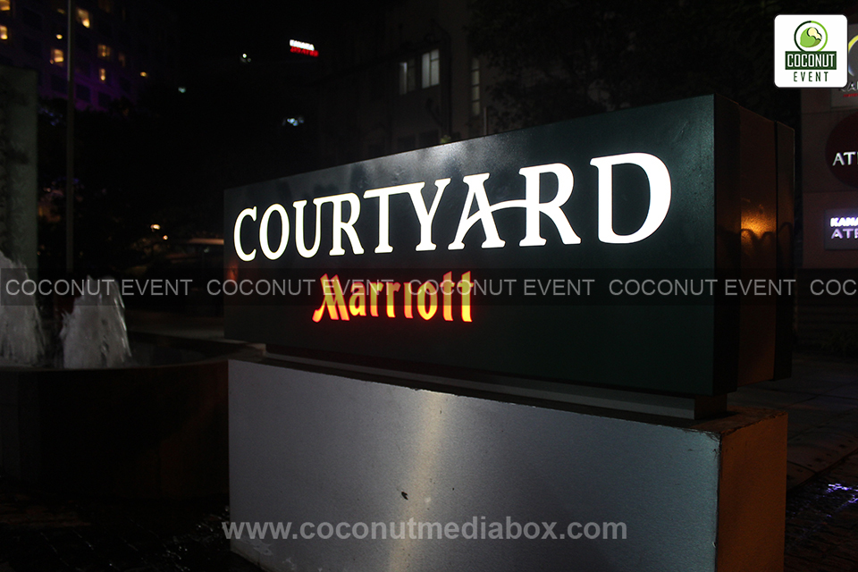 Coconut Event Mumbai along with Marriott Hotel organizing one of the best corporate event ever held