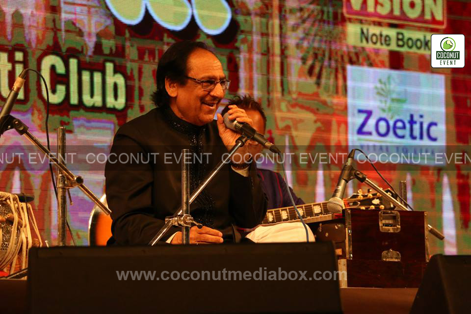 Ustad Ghulam Ali Khan Concert organizer Coconut Event