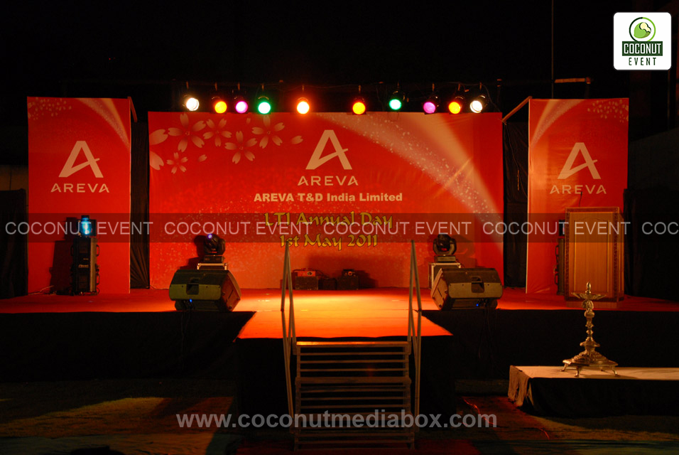 Corporate Event Management at Areva India