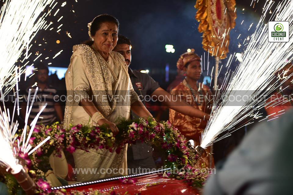 Asha Bhosle Live in Concert - Vadodara
