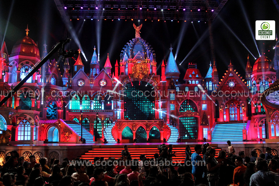 Award Stage Decorated by Coconut Event Team