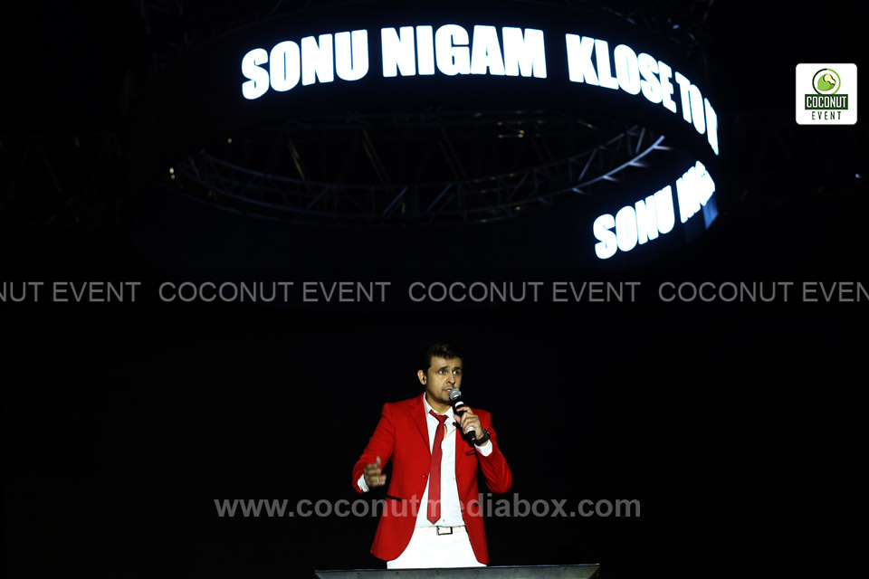 Sonu Nigam Live in Ahmedabad Concert