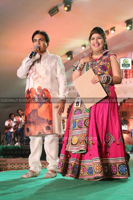 Dilip Joshi at Dandiya Celebration