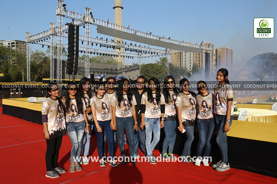 Coconut Event Team promoting Shreya Ghoshal Live in Concert