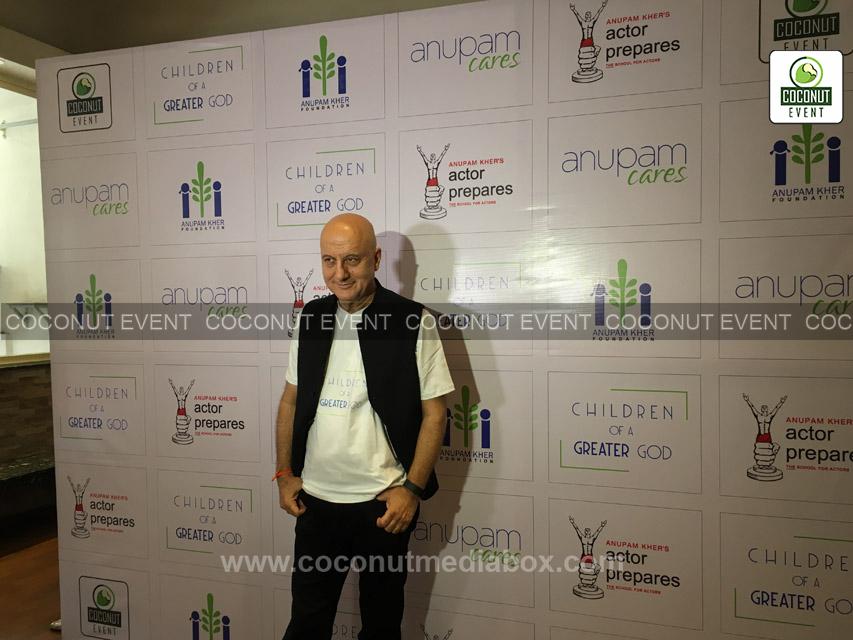 Anupam Kher at Social Event