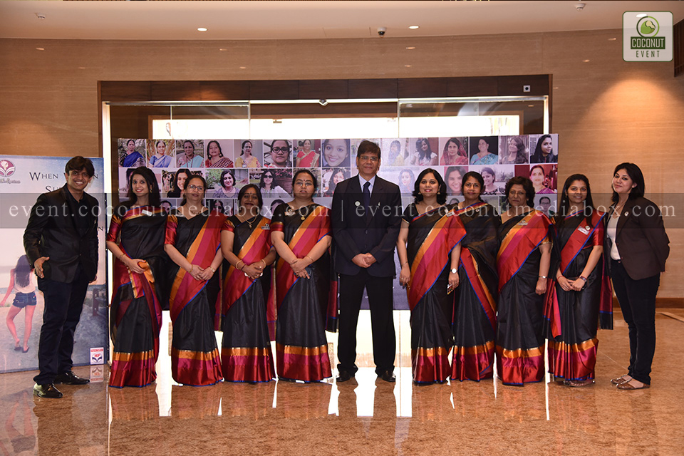 Coconut event managing an event for HPCL's Mumbai Refinery 2017 where the HPCL team is united and promoting gender equality