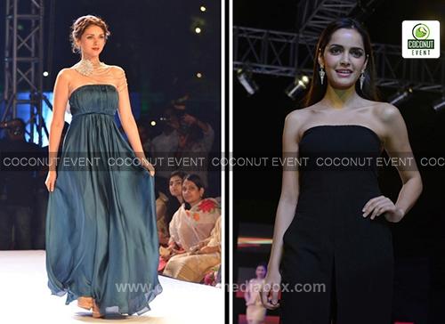 Aditi Rao in Fashion Show