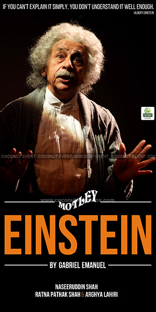 Einstein -Theatre Play in Ahmedabad