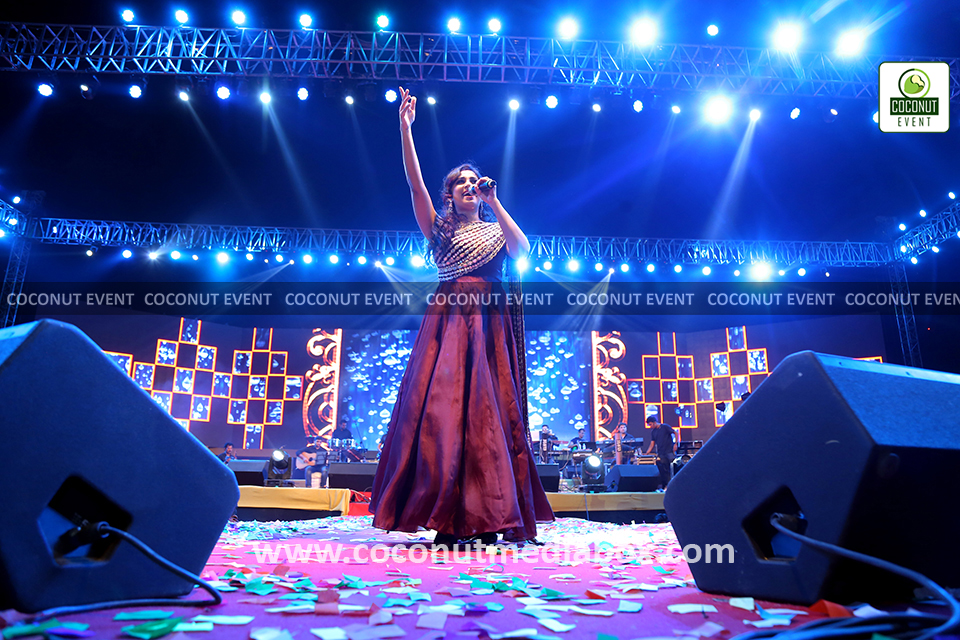 Coconut Event Organized Shreya Ghoshal Live Concert