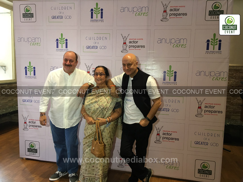 Anupam Kher in Social Event organized by Coconut Event