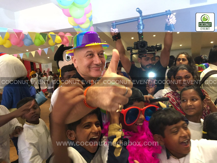 Actor Anupam Kher in Charity event 2016 at Mumbai