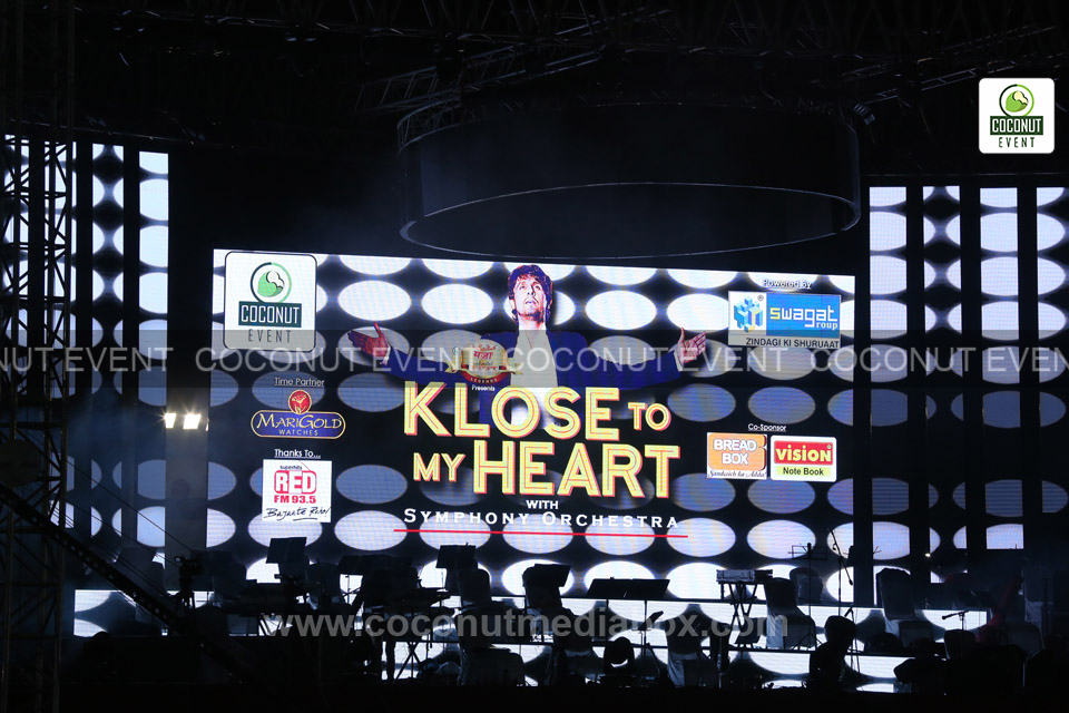 Klose to my Heart concert - Sonu Nigam