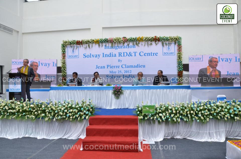 Board of Directors at Solvey Inauguaration Event held in 2012