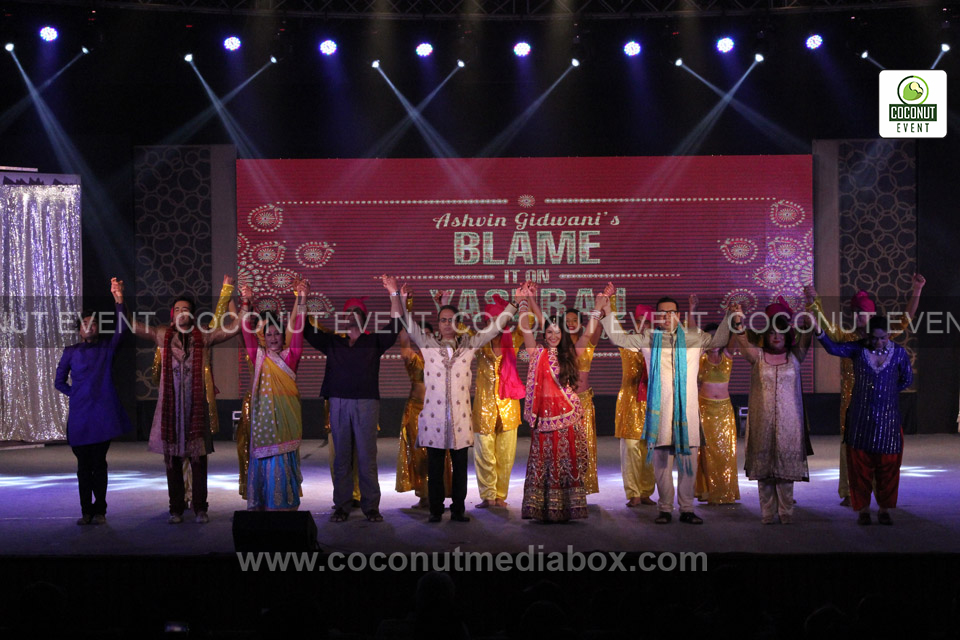 Actors of Theatre Play Blame It On Yashraj