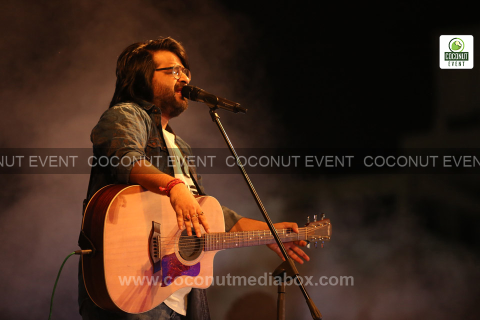 Pritam Chakraborty live at Ahmedabad