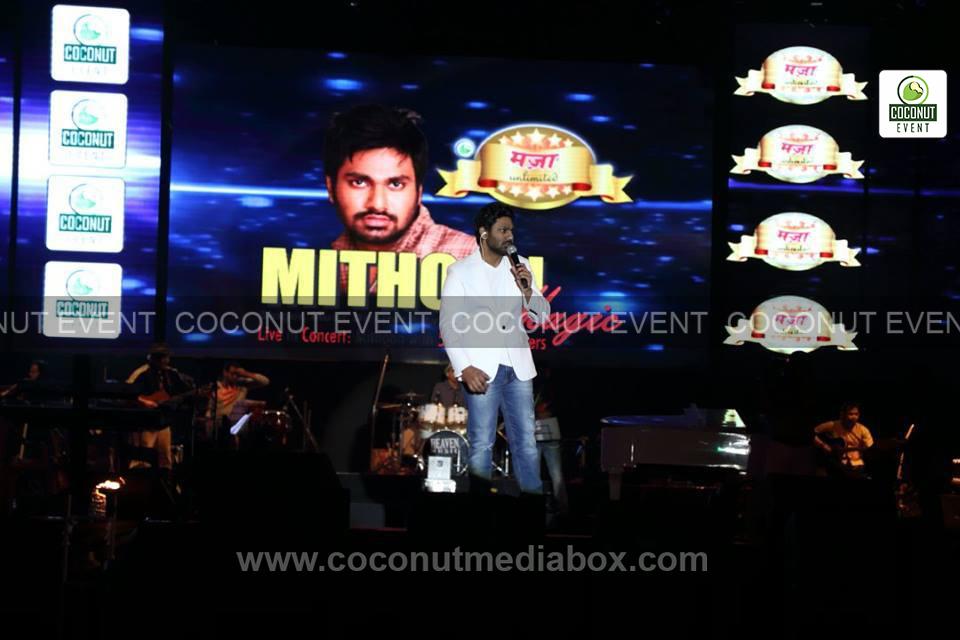 Mithoon Sharma in Ahmedabad Concert