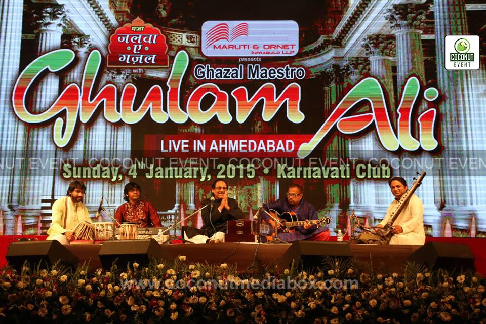 Ustad Ghulam Ali Khan Live in Ahmedabad