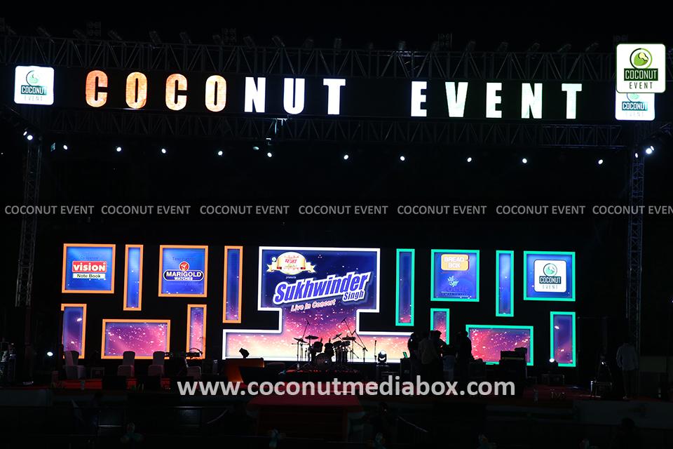 Sukhwinder Singh Live Concert Stage Decoration