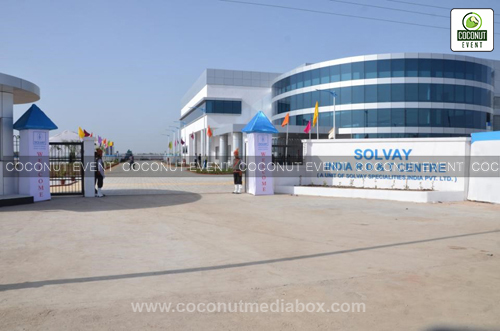 Entrance of Solvey Plant