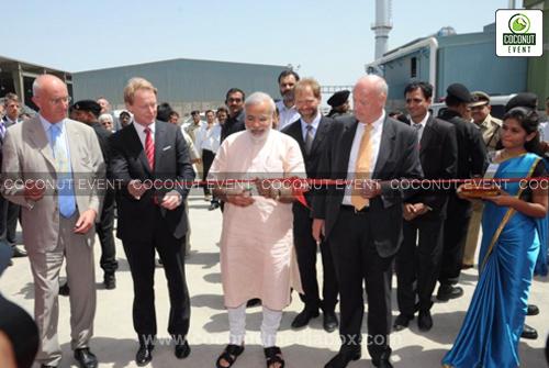 Inauguration at Rockwool - Baroda by PM Modi