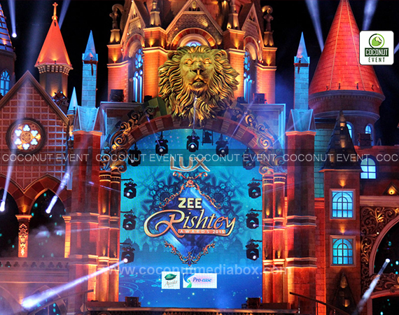 Zee Rishtey Award 2015 organized by Coconut Event an event management company in Mumbai.