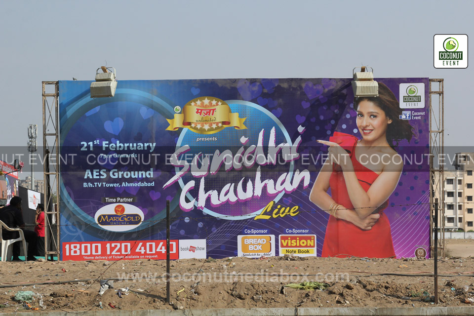 Sunidhi Chauhan at Ahmedabad - live show