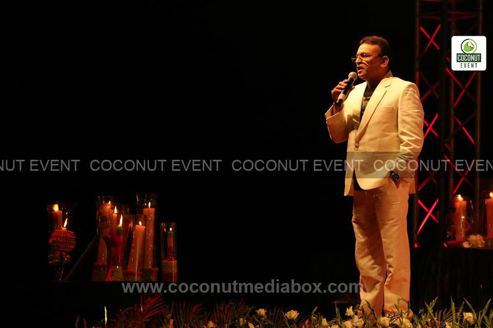Anu Kapoor Hosting Concert