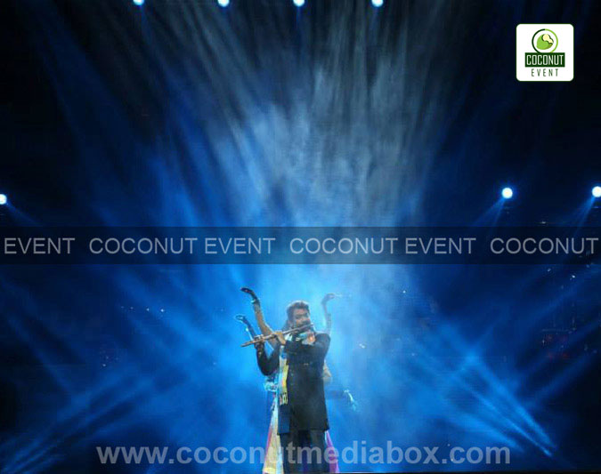R Rahman, Sonu Nigam, Yanni, Paresh Rawal, Anupam Kher, Manoj Joshi, Pulkit Solanki, Isha Sherwani, Geeta Chandran, food festival, Shivani trio, Rahul Sharma, Hariprasad Chaurasia in Internation art and cultural festival Vadfest 2015 by Coconut Event an event management company in Mumbai.