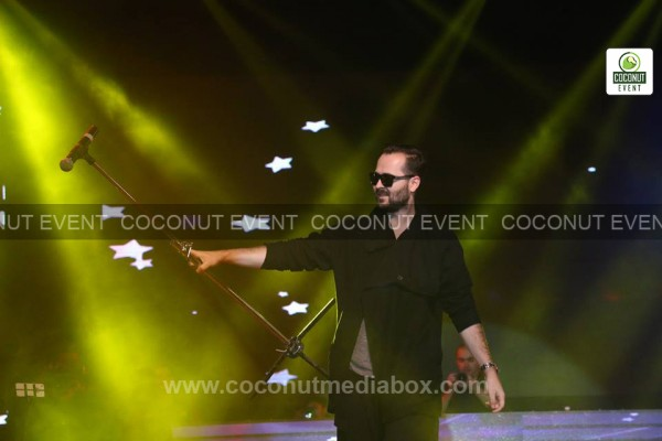 Coconut event managed live concert of Edward Maya 2014, the Romanian DJ musician first time in Ahmedabad
