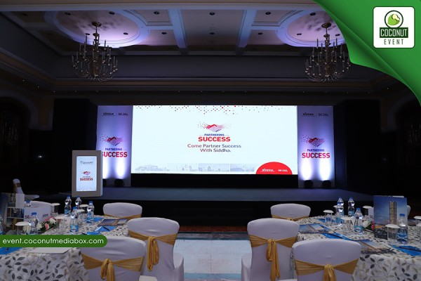 Corporate Association meet for Siddha & Sejal group At ITC Grand Central - Lower Parel