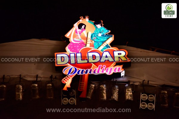 The most prominent festival celebrated across the nation widely popular in India called Dandia. Dildar Dandia managed by Coconut Event  2015 in Hyderabad