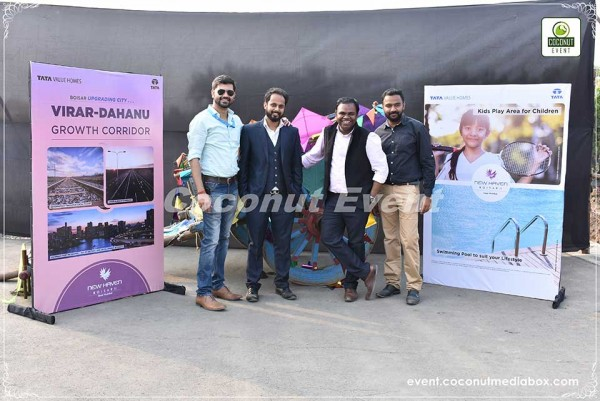 Tata Boisar Kite Festival