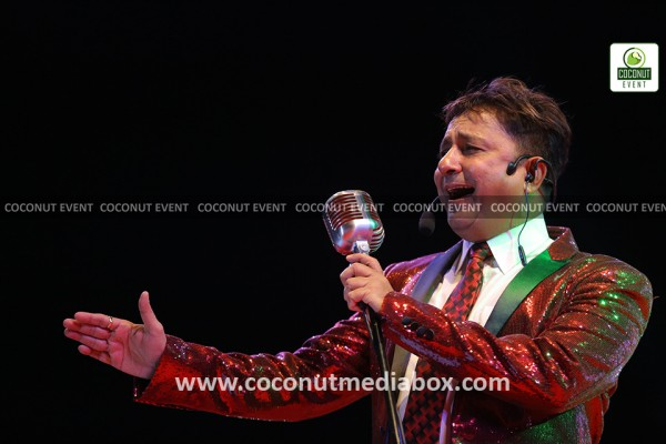 An awe-inspiring Indian Singer Sukhwinder Singh Live in Concert at AES Ground, Ahmedabad, Gujarat on 26 January 2017. Event managed by Coconut Media Box