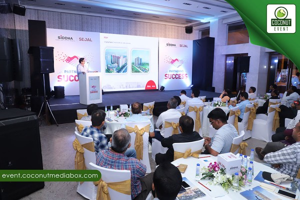 Corporate Association meet for Siddha & Sejal group At Blue Sea - Worli Sealink