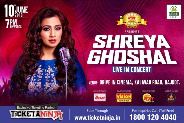Shreya Ghoshal live in concert