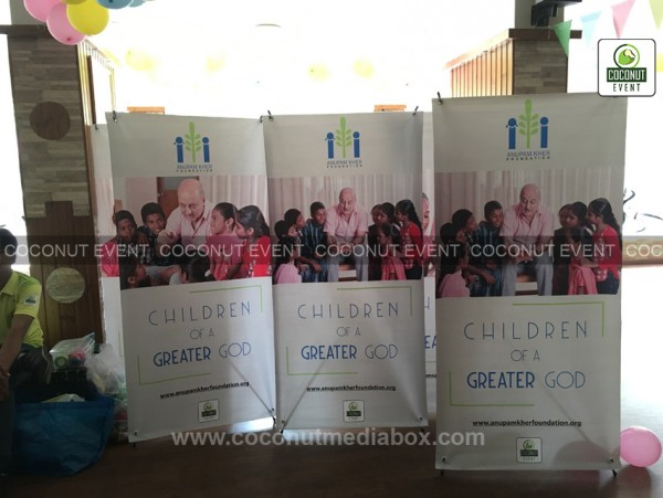 Anupam Kher Charity Event  | Coconut Event