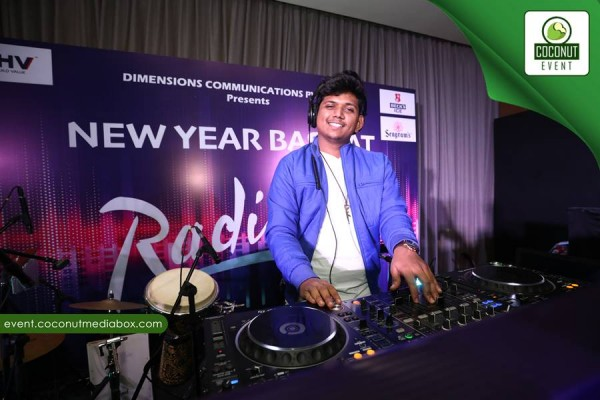 NEW YEAR BASH 2018 WITH DIMENSION COMMUNICATION