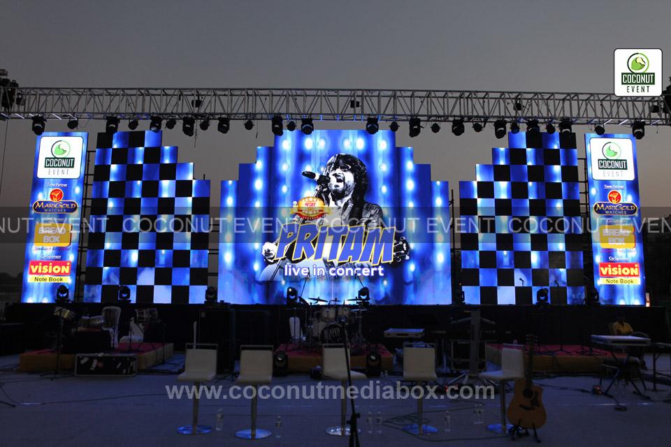 Pritam in Ahmedabad Concert